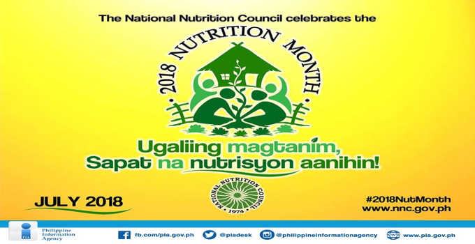 program for nutrition month
