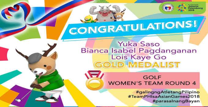 philippine women's golf team