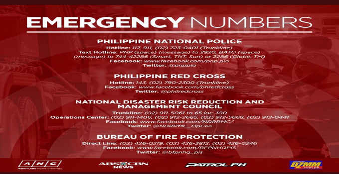 philippine telephone numbers