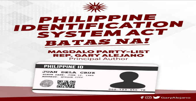 RA 11055 Philippine ID System Act