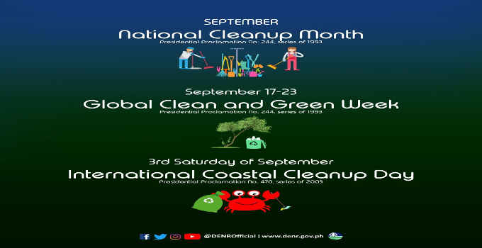 national clean-up month