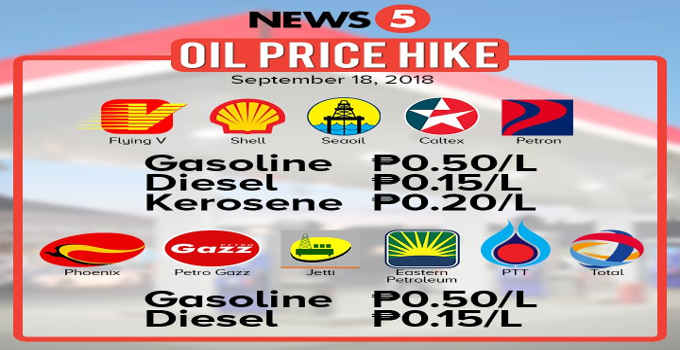 new oil price hike