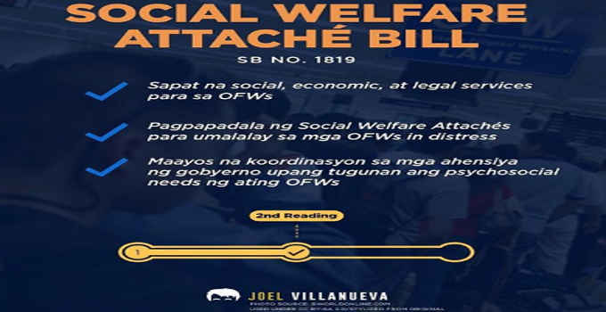social welfare attache bill