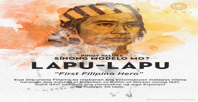 first filipino hero