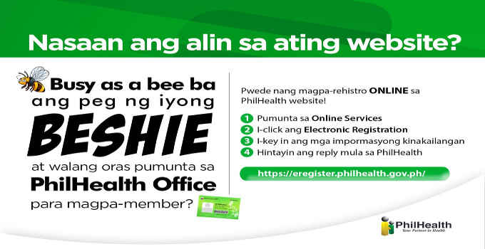 philhealth online registration procedure