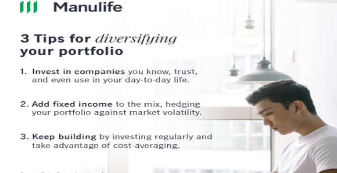 tips for diversifying your porfolio