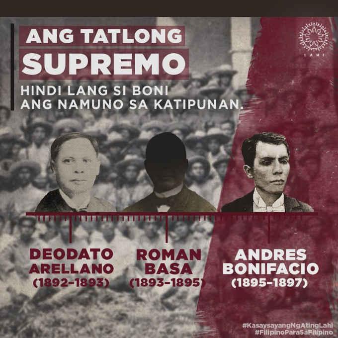 ang tatlong supremo