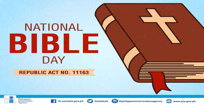 national bible day