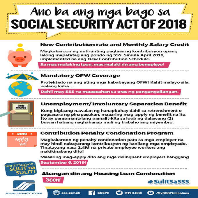 social security act of 2018