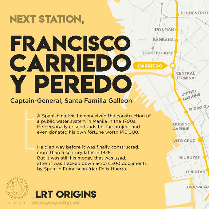 carriedo lrt station map