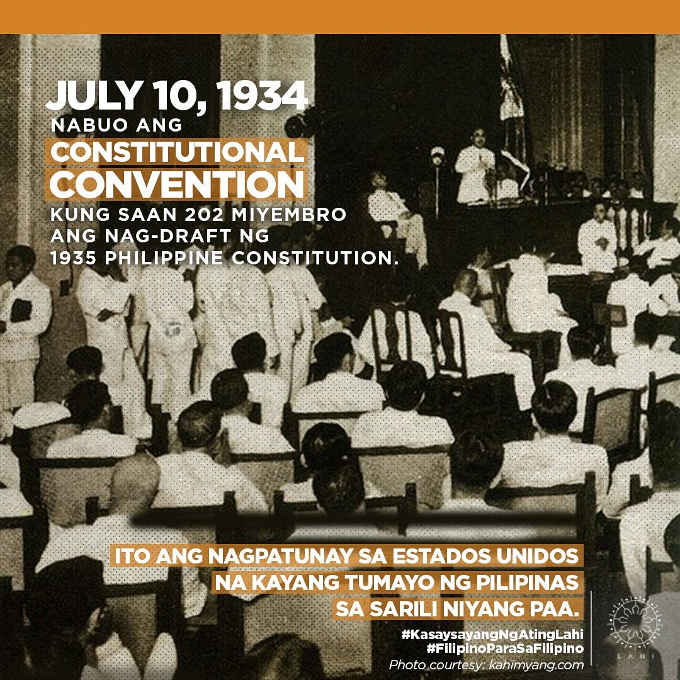 constitutional convention philippines