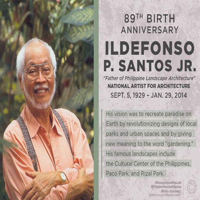 father of philippine landscape architecture