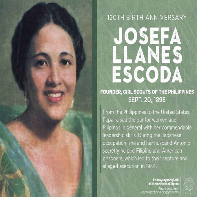 founder of the girl scout of the philippines