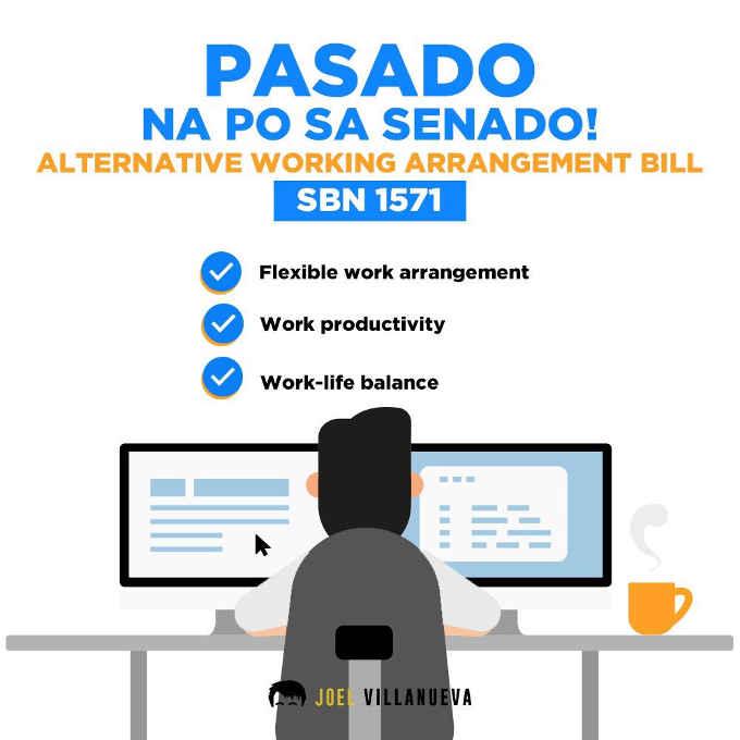 alternative working arrangement bill