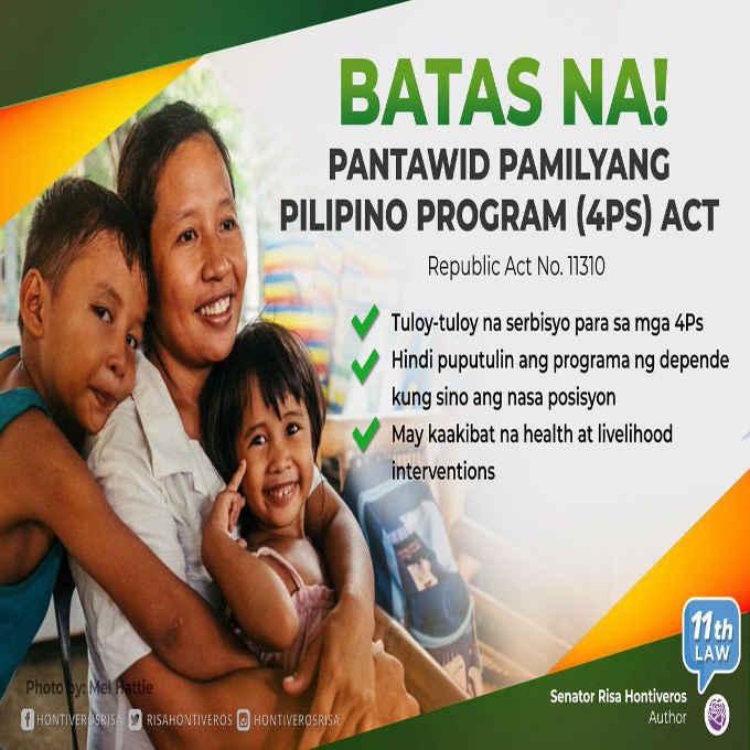 pantawid pamilyang pilipino program