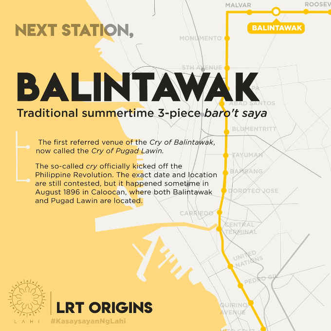 balintawak lrt station map