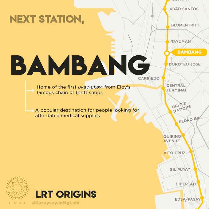 bambang lrt station map