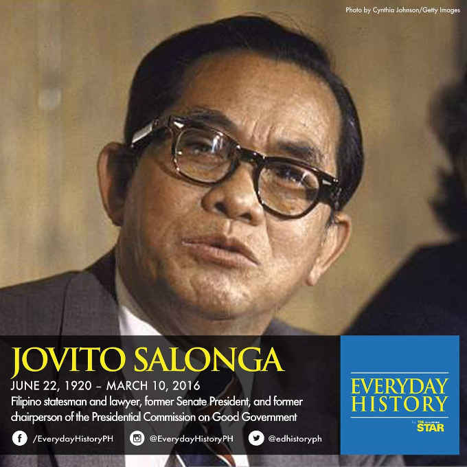 jovito salonga june 22 1920