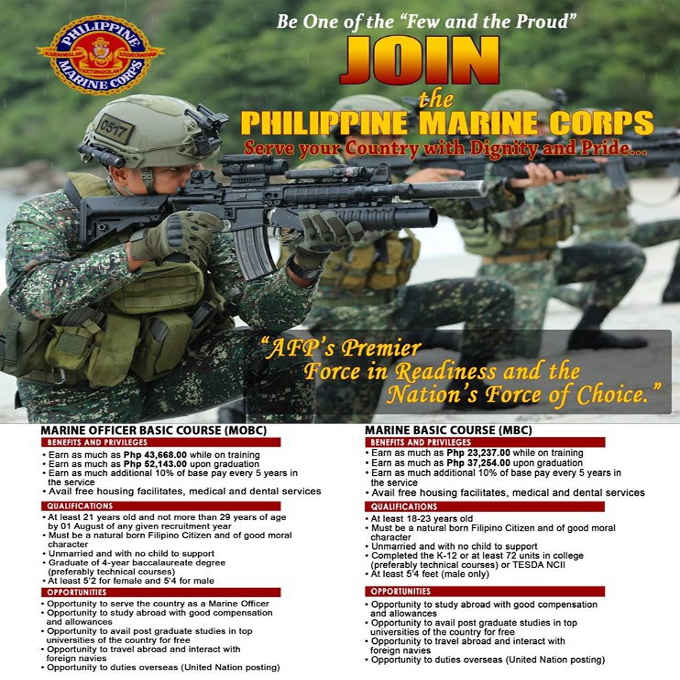 philippine marines recruitment