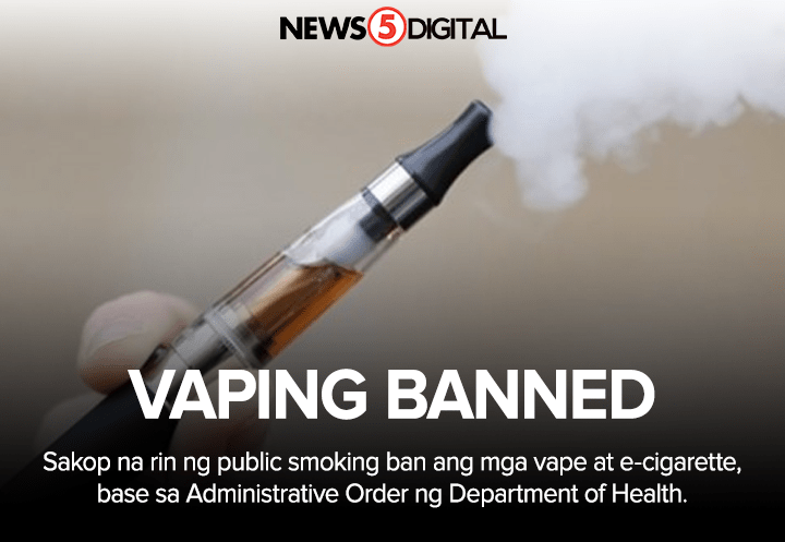 vaping banned