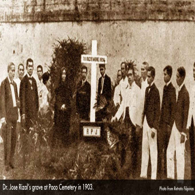 jose rizal grave august 17 1898