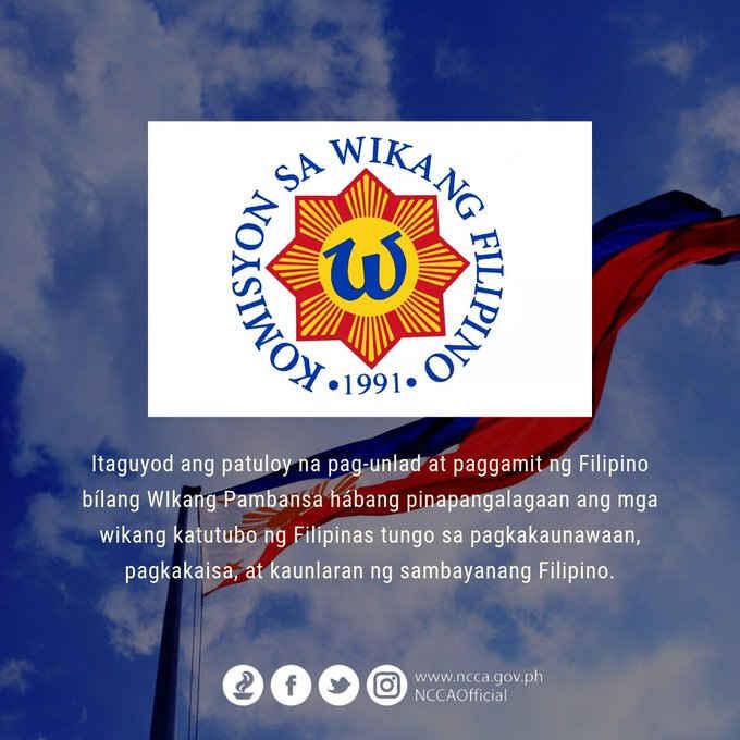 komisyon sa wikang filipino august 14 1991