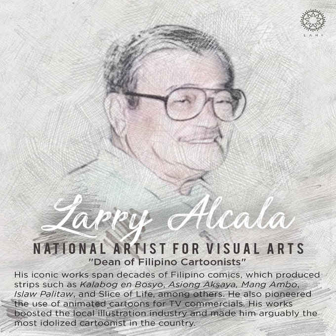 larry alcala dean of filipino cartoonists
