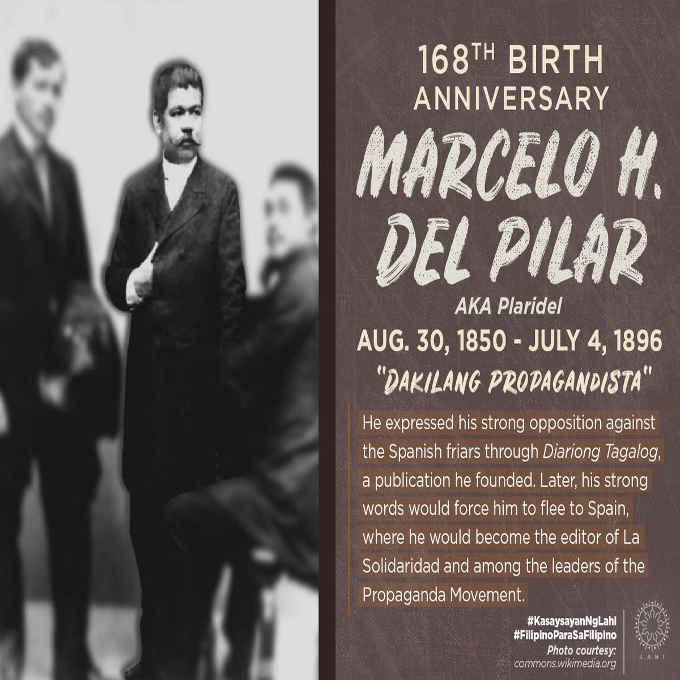 marcelo h del pilar august 30 1850