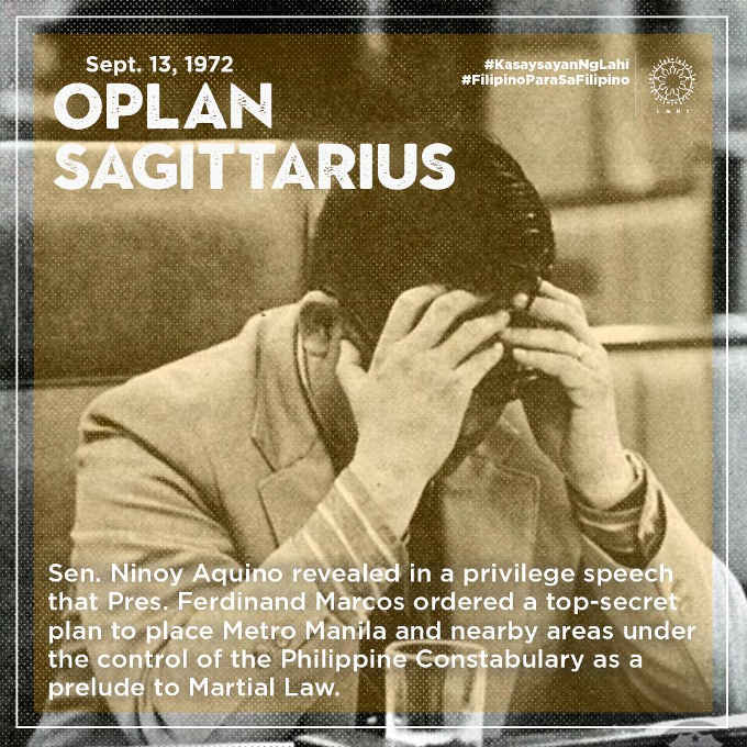 oplan sagittarius september 13 1972