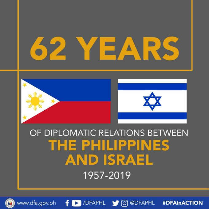 philippines and israel august 9