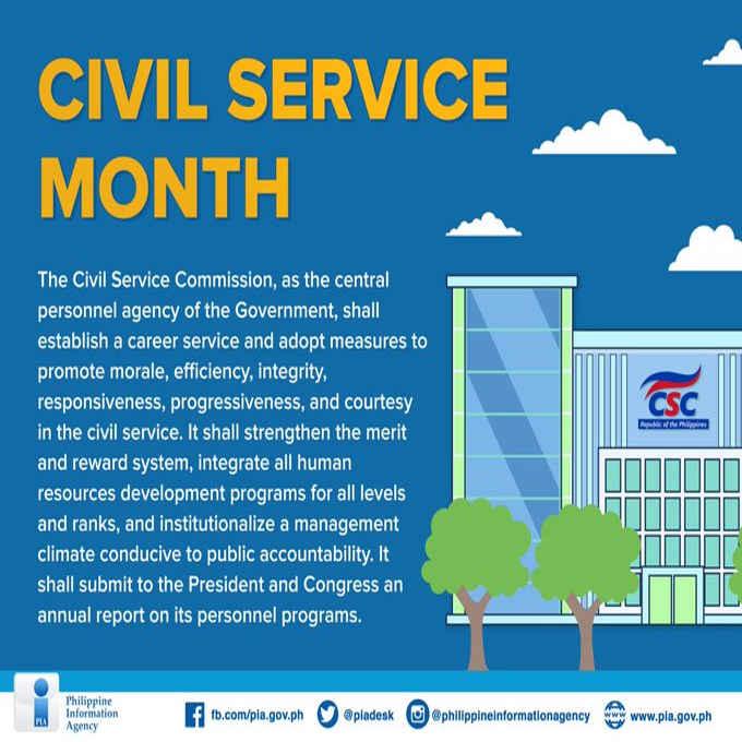 civil service month
