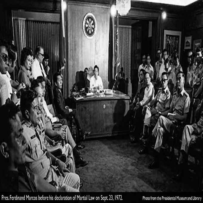 september 21 1972 marcos declared martial law