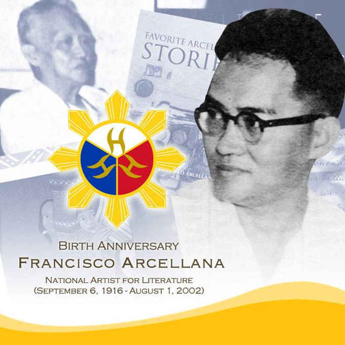 francisco arcellana september 6 1916