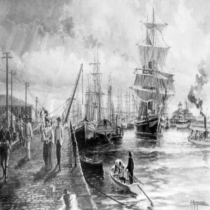 galleon ship september 14 1815