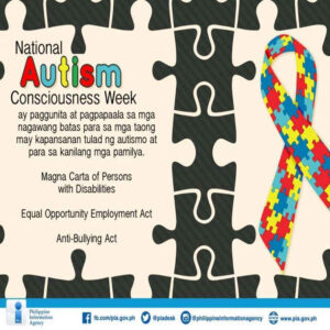 national autism consciousness week