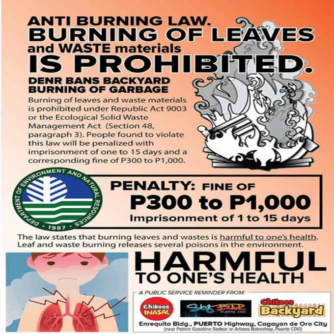 anti burning law