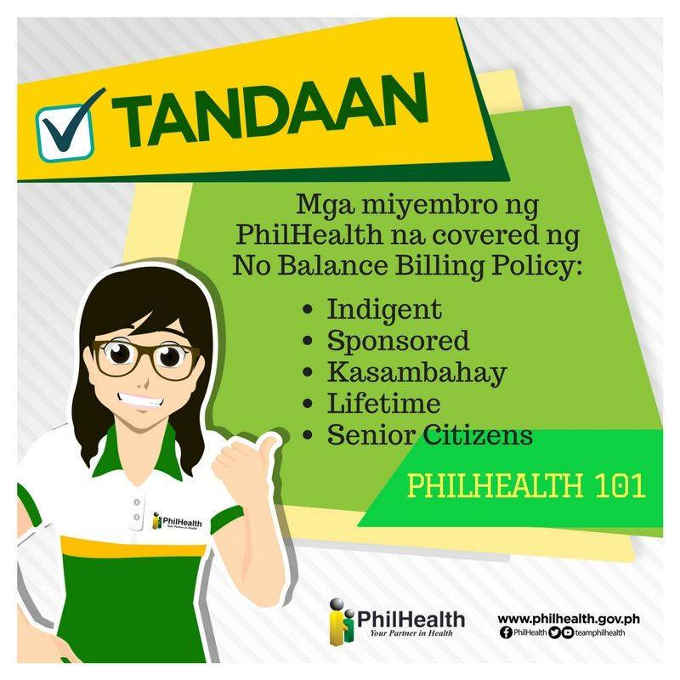 no balance billing policy philhealth