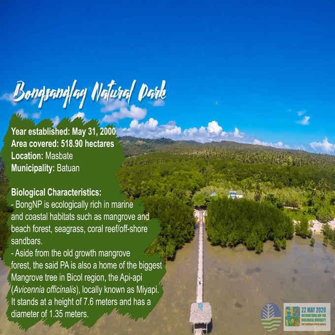 bongsanglay natural park