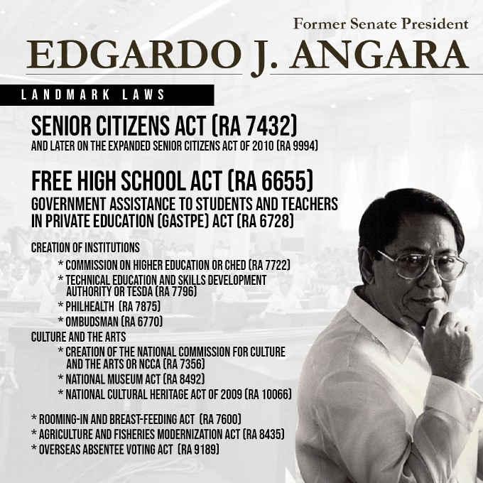 edgardo angara landmark laws