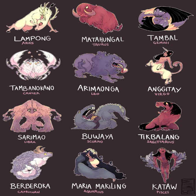 filipino zodiac sign