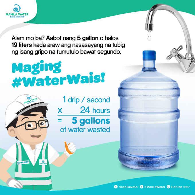 water wais