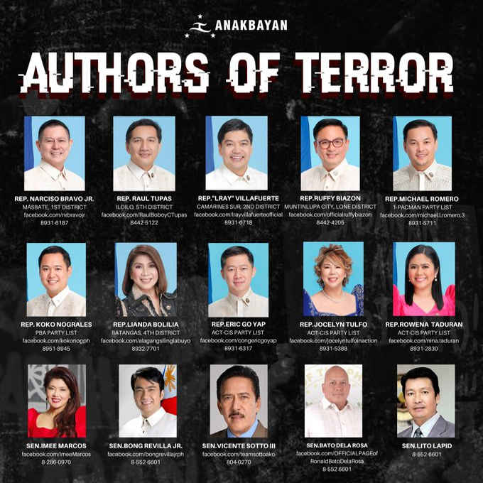 authors of terror
