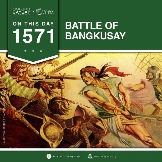 battle of bangkusay june 3, 1571