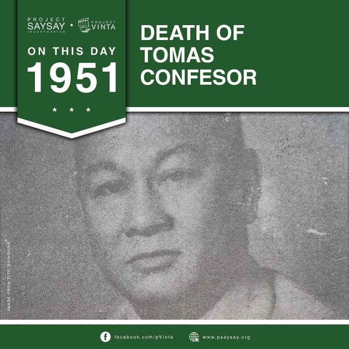 tomas confesor june 6, 1951