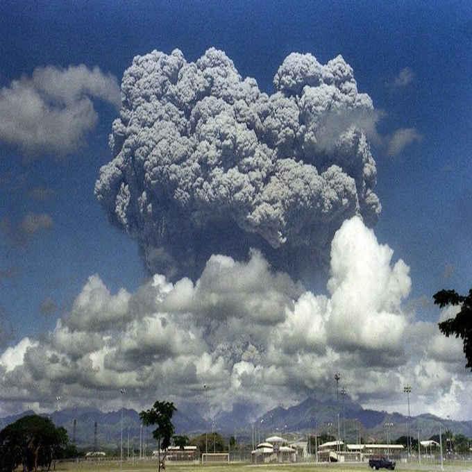 mt. pinatubo june 10, 1991