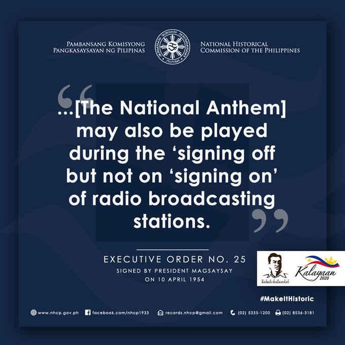 national anthem on tv sign off
