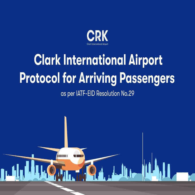 protocol for arriving passengers