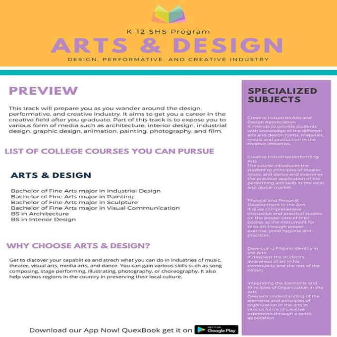 k 12 arts and design