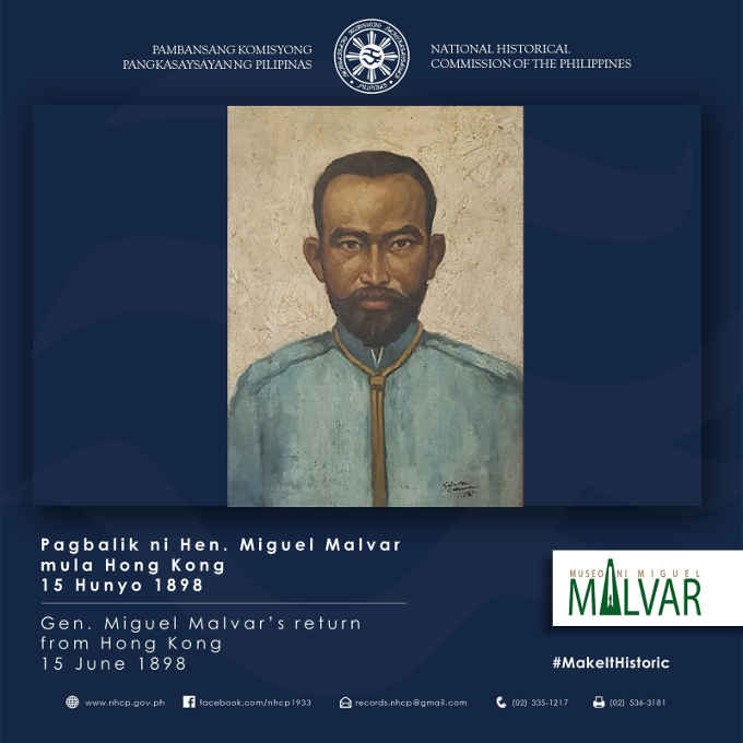general miguel malvar picture