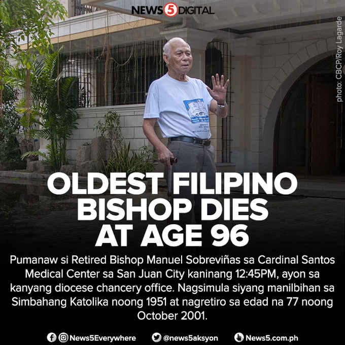 oldest filipino bishop